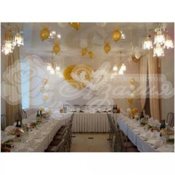 Оформление шарами на свадьбу «Комплект № 21»
